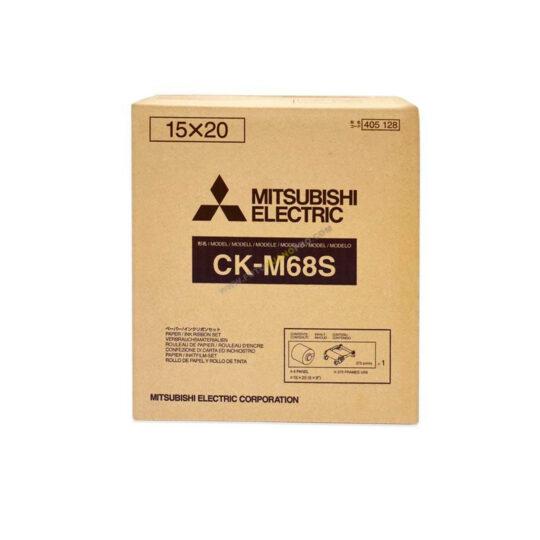 Mitsubishi Papel Térmico CK-M68S (10x15=750) (15x20=375)