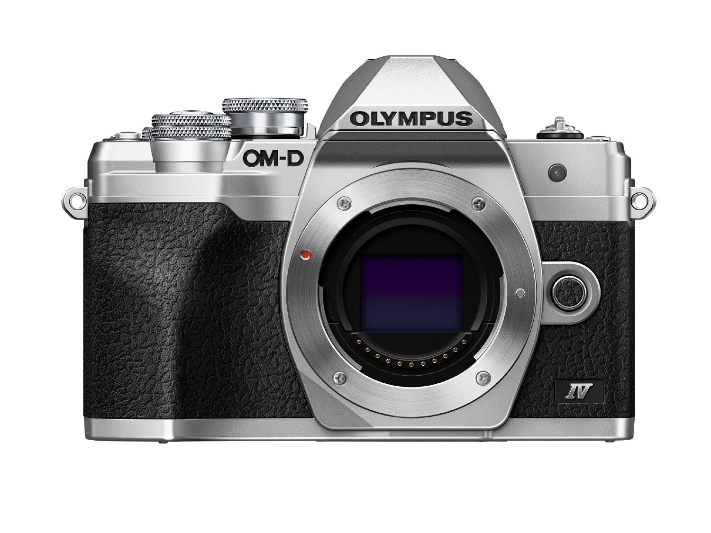 Olympus Cámara Evil OM-D E-M10 Mark IV Plata Cuerpo