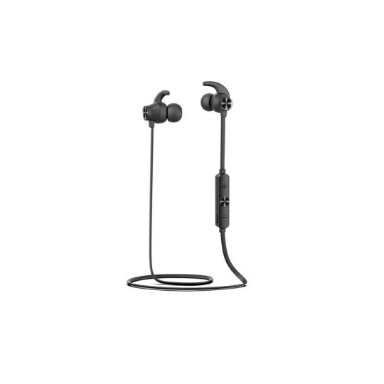 Auricular Aiwa ESTBT-400BK Negro, BT, 20Hz-20kHz, Micrófono, IPX5