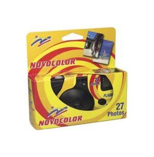 Camara de Un Solo Uso - Novocolor 400-27 con Flash |
