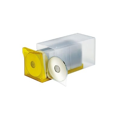 Archivador para Cd/Dvd AP DigiBox Transparente/Ambar