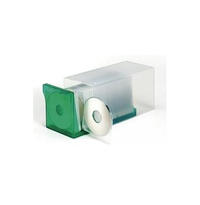 Archivador para Cd/Dvd AP DigiBox Transparente/Verde