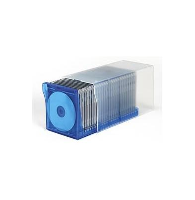 Archivador para Cd/Dvd AP DigiBox Transparente/Azul