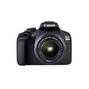 Camara Reflex - Canon Eos 2000D Objetivo 18-55mm IS II + 50mm F1.8   2728C022
