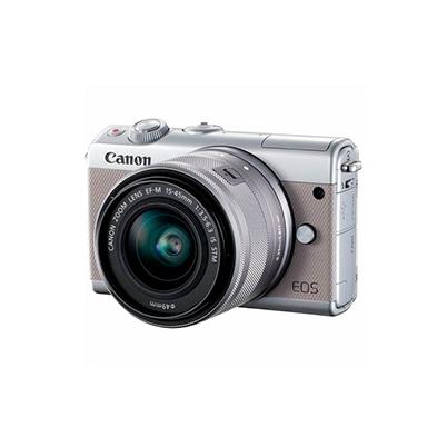 Camara Evil - Canon Eos M100 + EF-M 15-45mm IS STM Gris | 2211C012