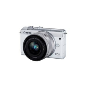 Camara Evil - Canon Eos M200 + EF-M 15-45mm IS STM Blanca | 3700C010
