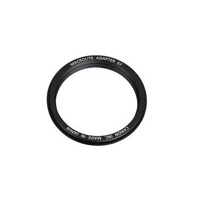 Adaptador Flash - Canon 67 para Flash macro 67mm   3563B001AA