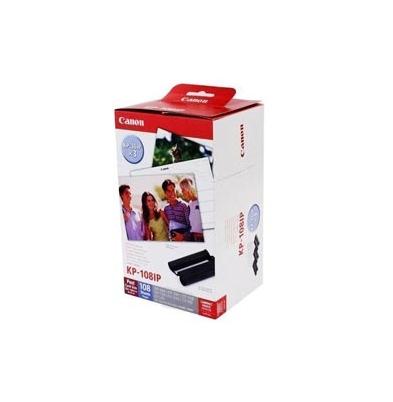 Consumible Térmico Canon KP-108IN Papel 10x15cm y Cartuchos para 108 hojas