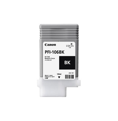 Canon PFI-106 Cartucho Tinta BK 130 ml Negro