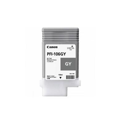 Cartucho Tinta - Canon PFI-106 GY 130 ml Gris | 6630B001AA
