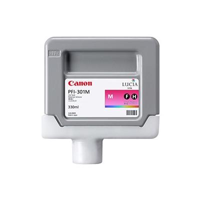 Cartucho Tinta - Canon PFI-301 M 330 ml Magenta | 1488B001AA