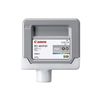 Cartucho Tinta - Canon PFI-301 PGY 330 ml Gris Claro | 1496B001AA