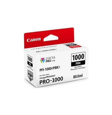 Cartucho Tinta - Canon PFI-1000 PBK 80 ml Negro Foto | 0546C001AA