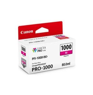Cartucho Tinta - Canon PFI-1000 M 80 ml Magenta | 0548C001AA