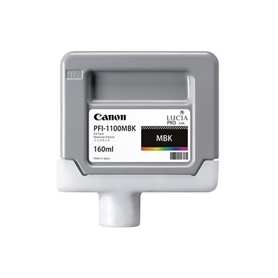 Cartucho Tinta - Canon PFI-1100 MBK 160 ml Negro Mate | 0849C001AA