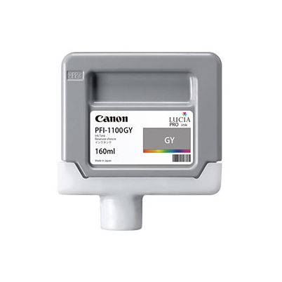Cartucho Tinta - Canon PFI-1100 GY 160 ml Gris | 0856C001AA