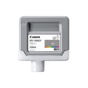 Cartucho Tinta - Canon PFI-1300 GY 330 ml Gris | 0817C001AA