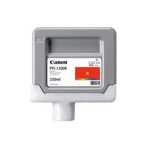 Cartucho Tinta - Canon PFI-1300 R 330 ml Rojo | 0819C001AA