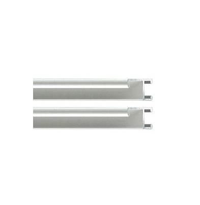 Marco - Aluminio I Kit 2 Perfiles   20Cm Plata |