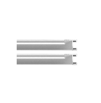 Marco - Aluminio I Kit 2 Perfiles   40Cm Plata |