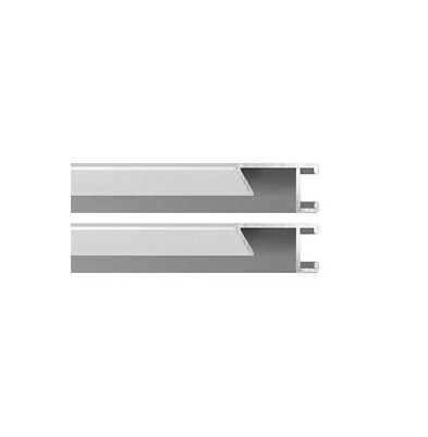 Marco - Aluminio II Kit 2 Perfiles 120Cm Plata |