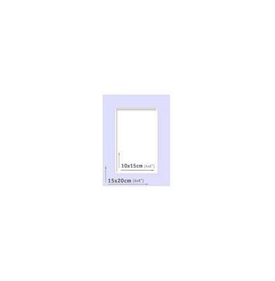 Passpartout - 15x20 (10x15) Azul |