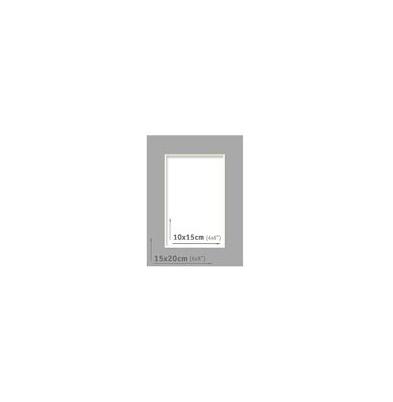 Passpartout - 15x20 (10x15) Gris Oscuro |