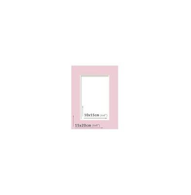 Passpartout - 15x20 (10x15) Lila |