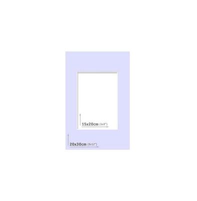 Passpartout 20x30 (15x20) Azul