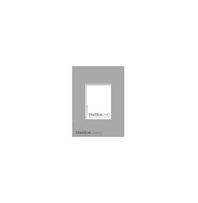 Passpartout - 30x40 (15x20) Gris Oscuro |