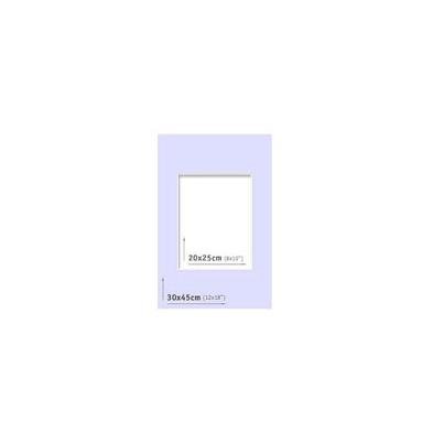 Passpartout - 30x45 (20x25) Azul  