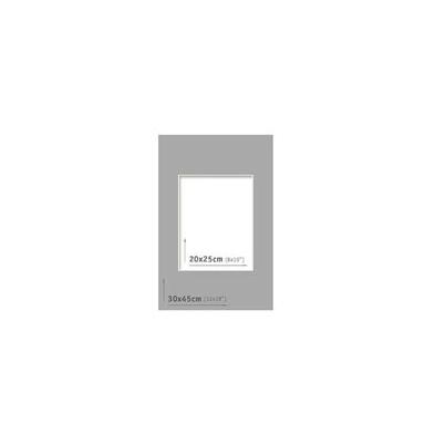 Passpartout - 30x45 (20x25) Gris Oscuro |