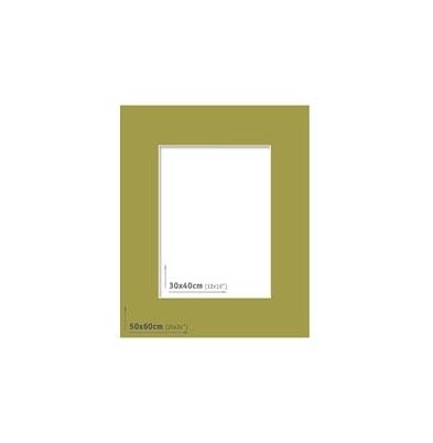 Passpartout 50x60 (30x40) Verde