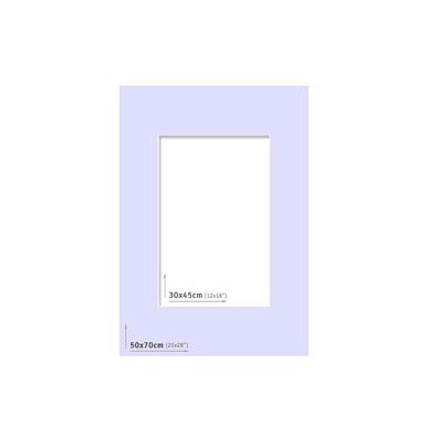 Passpartout 50x70 (30x45) Azul