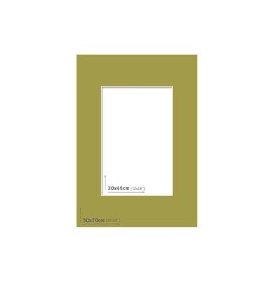 Passpartout 50x70 (30x45) Verde