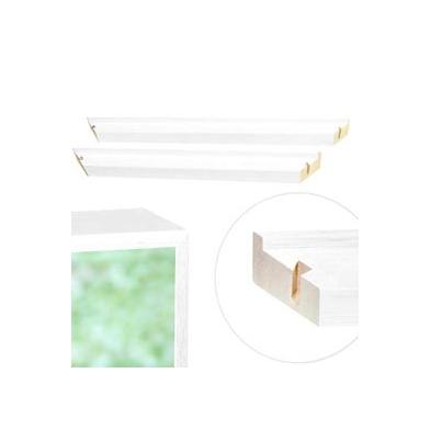 Marco LT Blanco  Kit 2 Perfiles   50Cm