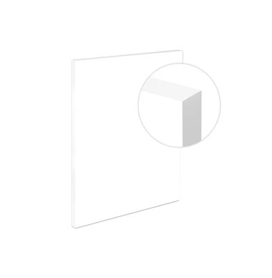 Light-Panel   40x50 19mm adhesivado Canto Blanco