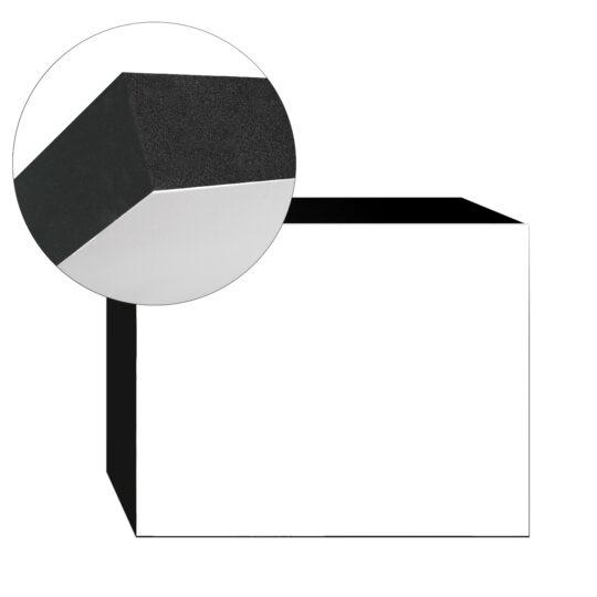 AP Light-Panel   15x20 30mm adhesivado Canto Negro