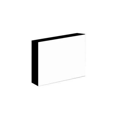 Light-Panel   15x20 30mm adhesivado Canto Negro
