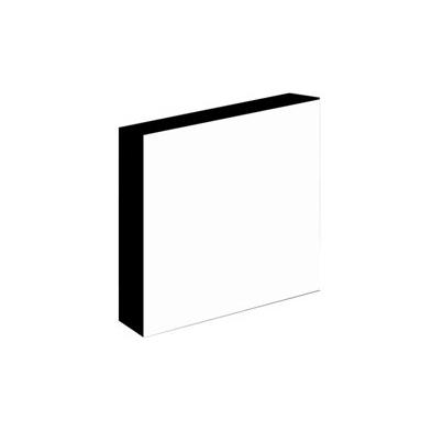Light-Panel   20x20 30mm adhesivado Canto Negro
