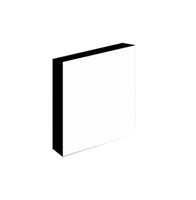 Light-Panel   20x25 30mm adhesivado Canto Negro