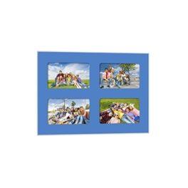 Quick-Panel 30x40 para 4 foto 10x15 Azul