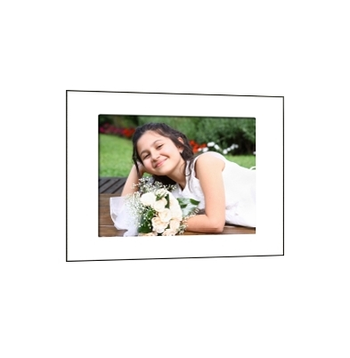 Quick-Panel 40x50 para 1 foto 30x40 Blanco