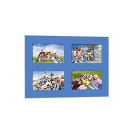 Quick-Panel 40x50 para 4 foto 15x20 Azul