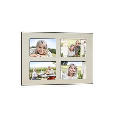 Quick-Panel 40x50 para 4 foto 15x20 Tesuto