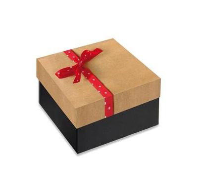 Caja Regalo 11x11x6 cm Modelo Red Box