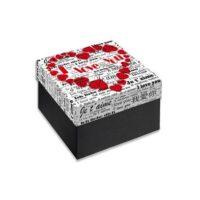 Caja Regalo 11x11x6 cm Mod. I Love You