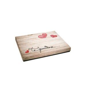 Caja Regalo 31x23x4 cm Mod. Te Quiero/I Love You   341649