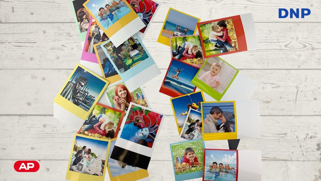 imprimir fotos vintage polaroid con dnp