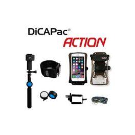 """Kit Accion - Dicapac Monopie SELFIE acuatico + Brazalete + Funda acuatica  5,7"""" DPSA-C2"""